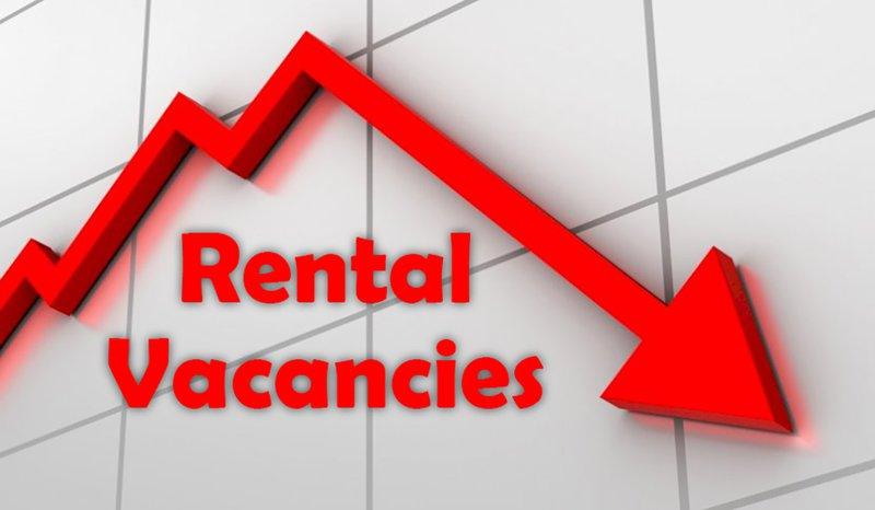 Rental vacancies down
