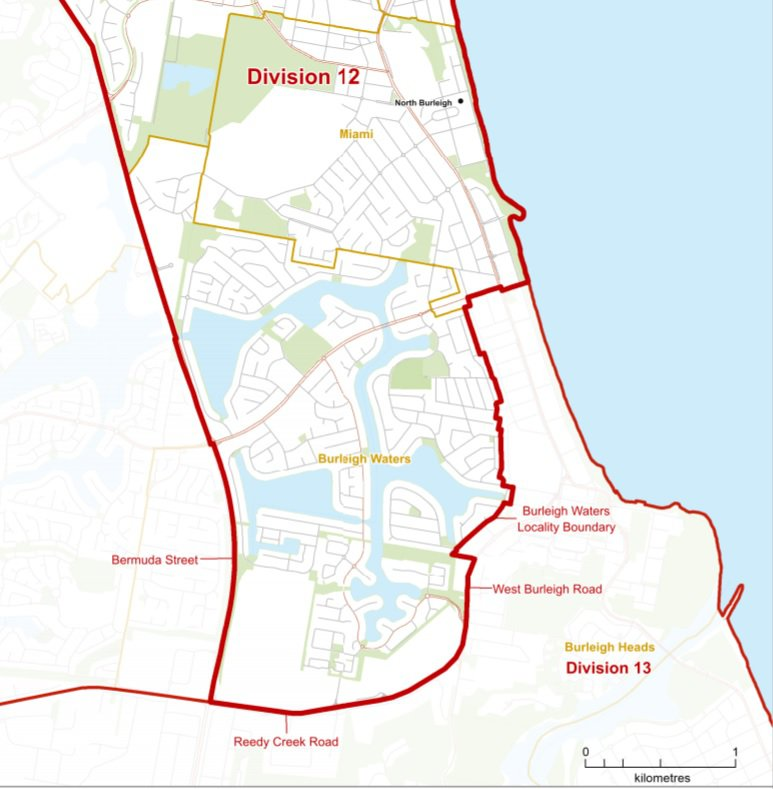 The great Burleigh divide – why neighbours are being separated into two Council Divisions