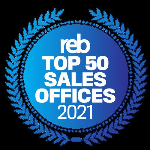 reb top 50 sales office 2021