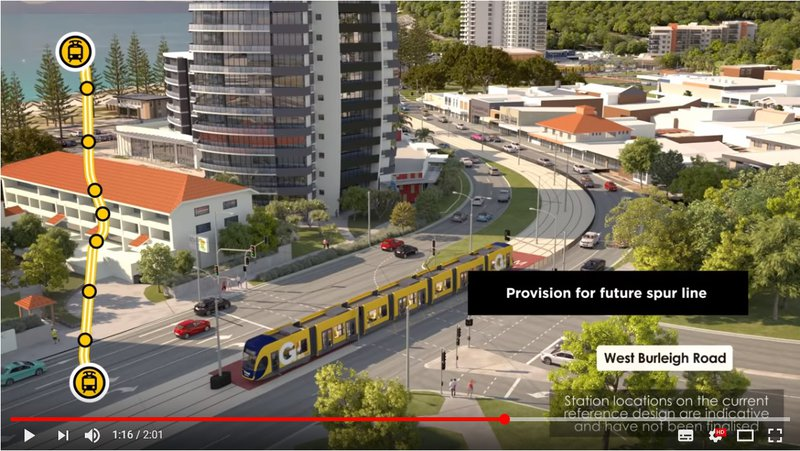 Light Rail spur could mean big things for West Burleigh