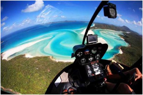 Whitehaven Beach Heli Flights